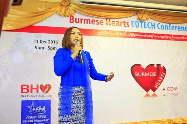 Yatu - BurmeseHearts Edtech Conference Yangon 2016 December