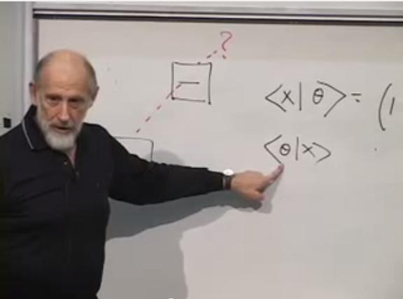 Stanford Quantum Mechanics lesson 6