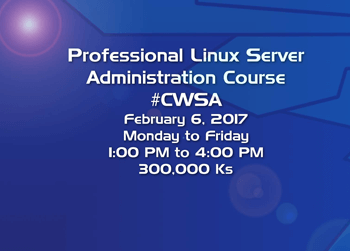 Professional Linux Server Administrator Course in Yangon